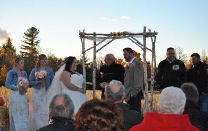 Congratulations Darren and Sarah