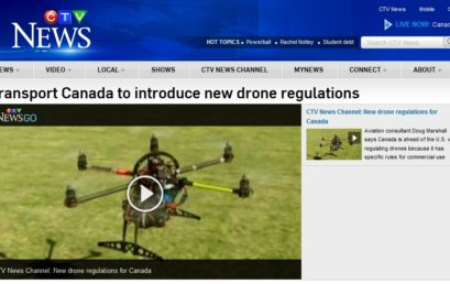 "CTV Article on New Transport Canada ""Drone"" Reg"