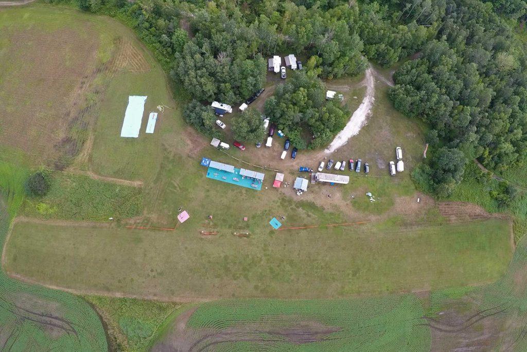 Arnprior Radio Control Club Aerial Shot