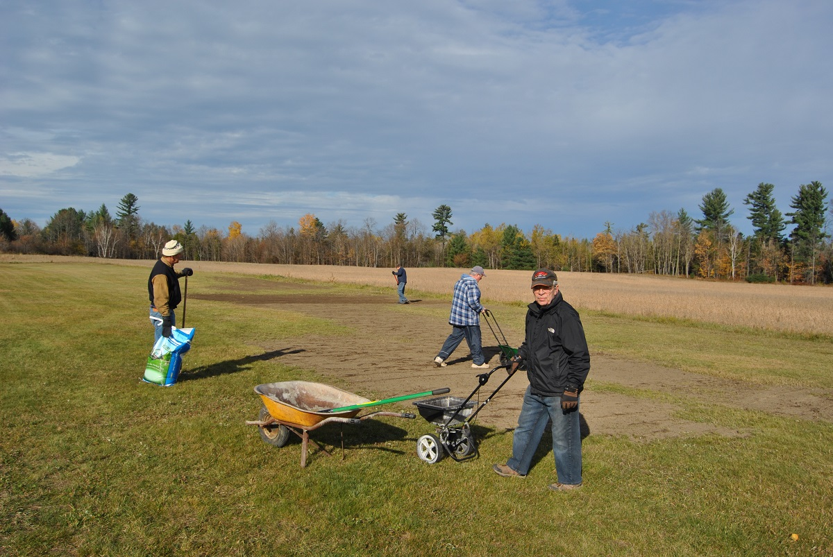 Fall Field Clean Up and Meeting