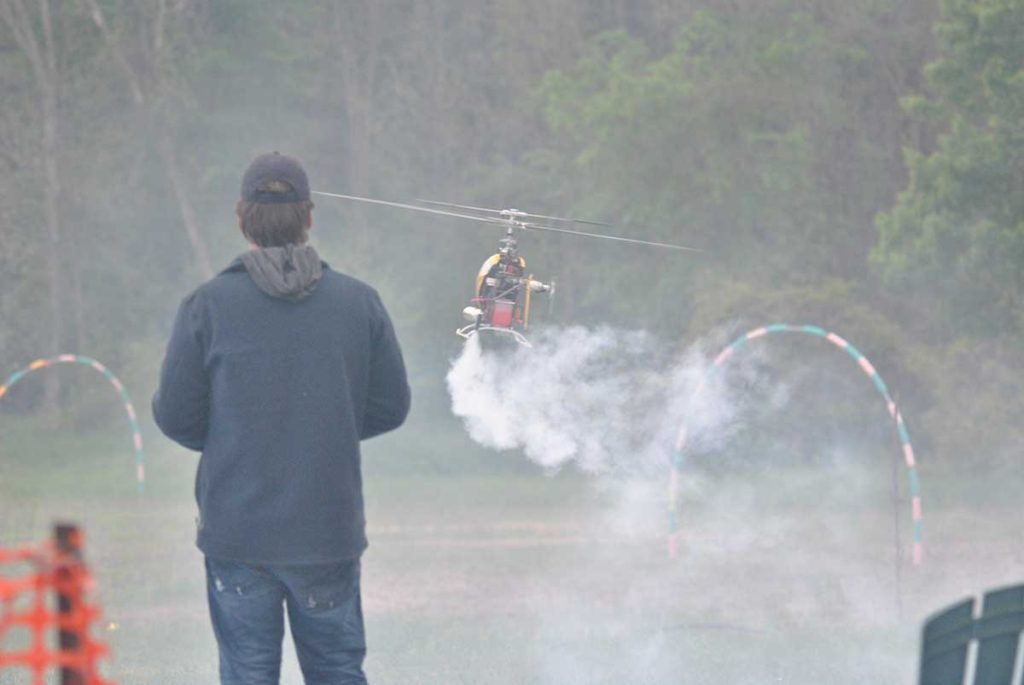 Heli Foamy and FPV Flight Line at the Arnprior Radio Control Club